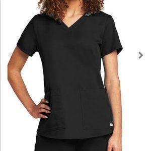 Grey's Anatomy NWT Black Scrub Top